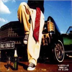 racionais mc´s: na capa do cd, a ode à cultura automobilística.