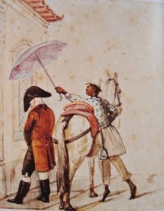 até hoje assim se faz: quem pode manda, quem tem juízo obedece e protege da chuva, do vento...
