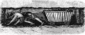 trabalho infantil nas minas de halifax, 1842
