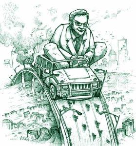 se financia a compra de carros, poluidores por excelência, pode se dizer verde?