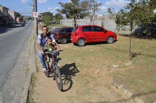 dá para sprintar carregando filho na bicicleta? foto de Antionio Miotto