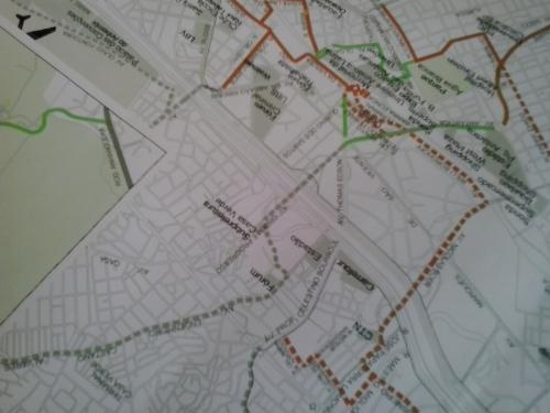 um dos mapas que analisávamos