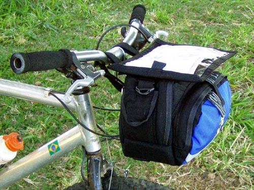 bolsa de guidão ararauna