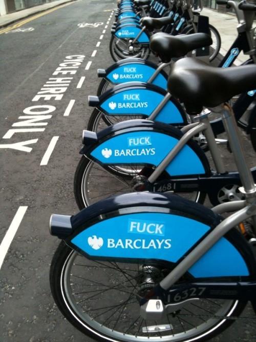 bicicletas do sistema barclays cycles de londres. clique na imagem e leia sobre o melhoramento nessas bicicletas