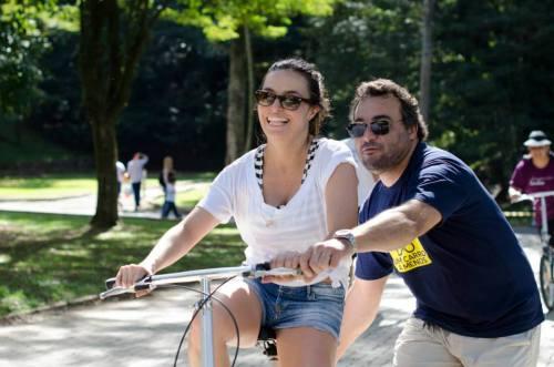 sempre dá pra trazer alguém pras bicicletas, mesmo quem não sabe.