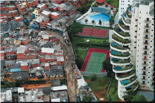 paraisópolis e morumbi, além da novela. um dos bairros mais desiguais de são paulo, e por isso mesmo um dos mais violentos.