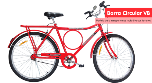 Barra Circular 2016, com v-brakes